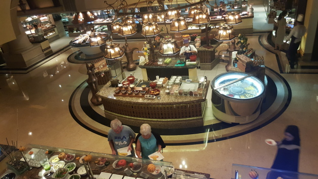 Breakfast in Abu Dhabi. (Photo/ Verushka Ramasani)