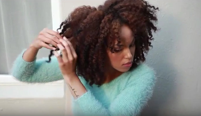 twist out on natural hair be whole